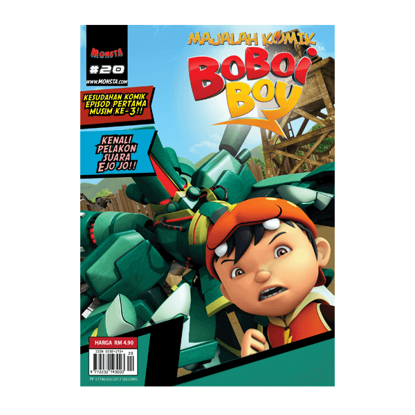 [LIMITED EDITION] Majalah Komik Boboiboy #20