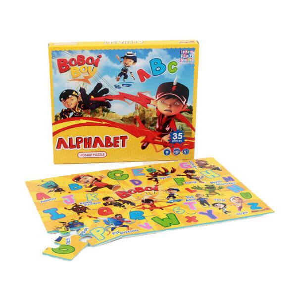 BBB 004 – Boboiboy ABC Jigsaw Puzzle