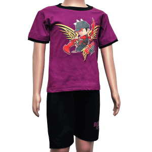 t-shirt 104 - purple