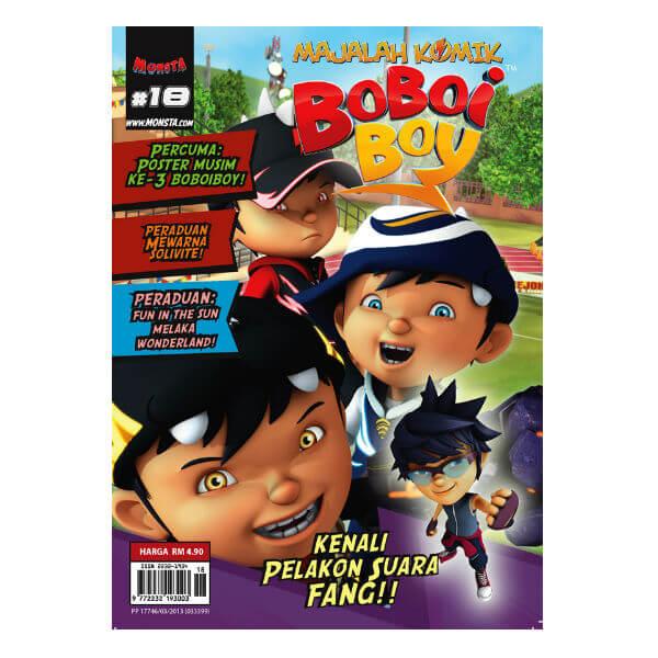 [LIMITED EDITON] Majalah Komik Boboiboy #18