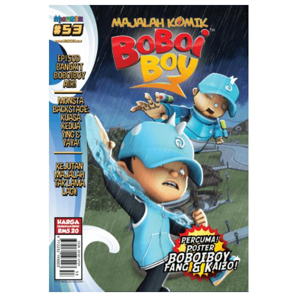 Majalah Komik Boboiboy #53