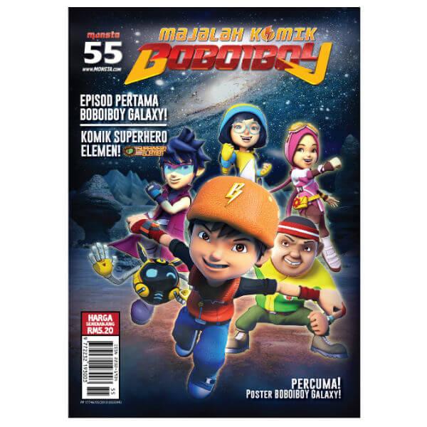 Majalah Komik Boboiboy #55