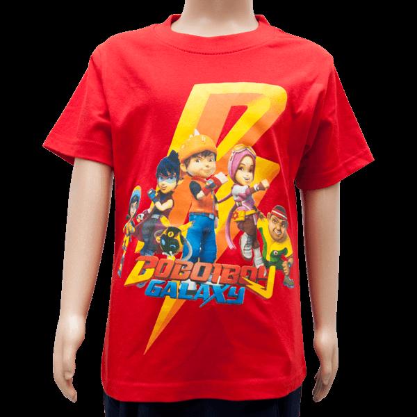 Kids T-Shirt BBB Galaxy (Red)