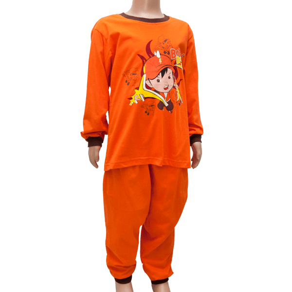BPJ 106 – Pyjamas Set (Orange)