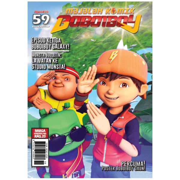 Majalah Komik BoBoiBoy #59