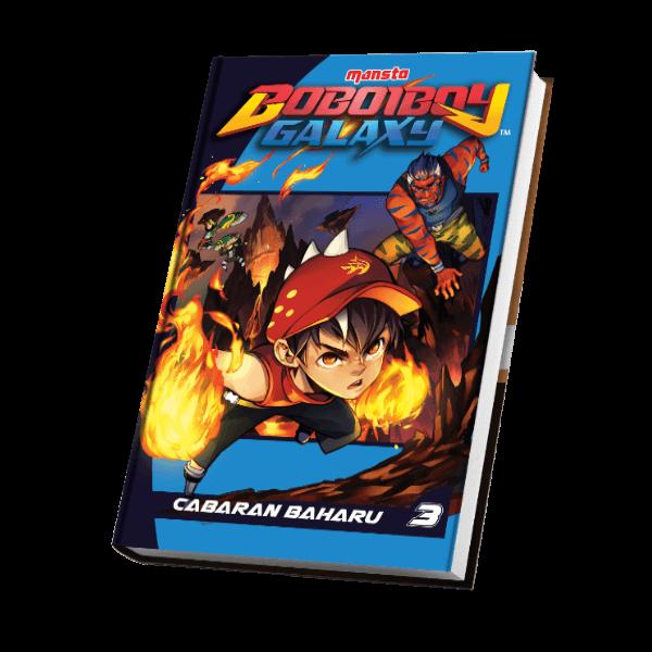 Komik BoBoiBoy Galaxy #3 – Cabaran Baharu