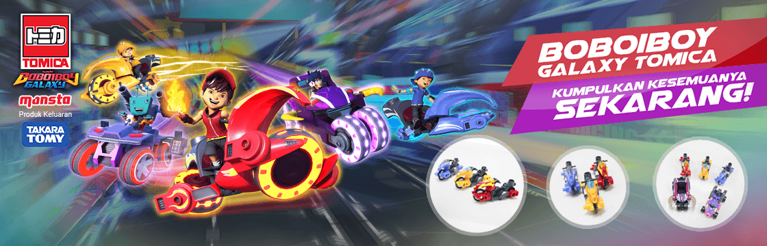 BoBoiBoy Galaxy TOMICA – Set of 5