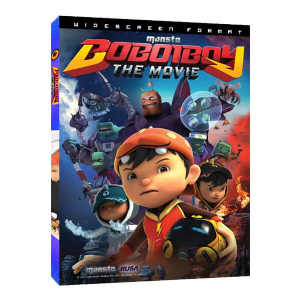 Dvd Boboiboy The Movie Monsta Store