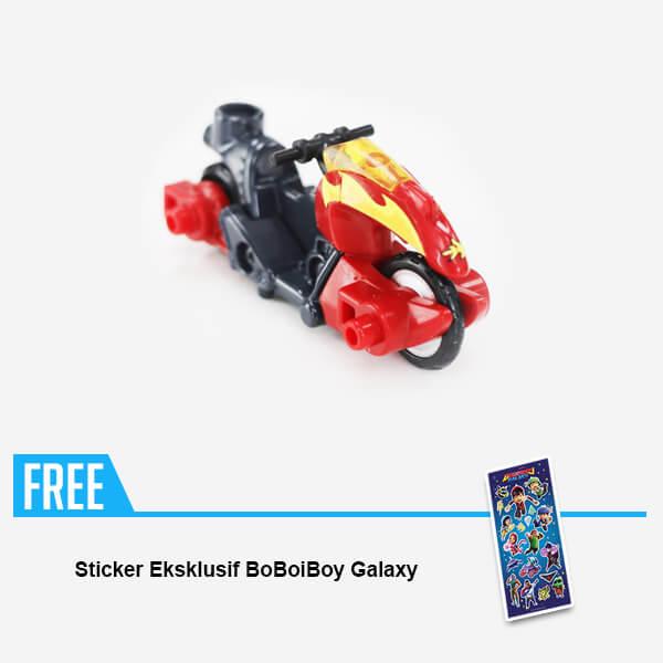 BoBoiBoy Galaxy TOMICA : BoBoiBoy Api [FREE Exclusive BoBoiBoy Galaxy  Sticker]